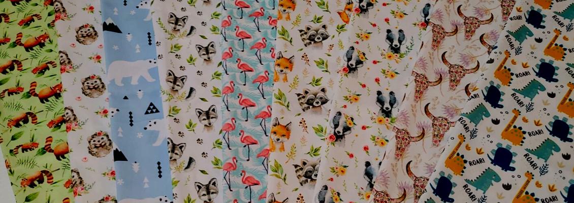 pul-tissu-motif-renard-raton-blaireau-taureau-boho-flamant
