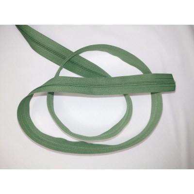 Fermeture à glissière - zipper - chaine - VERT
