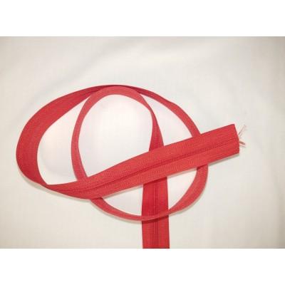 Fermeture à glissière - zipper - chaine - Rouge