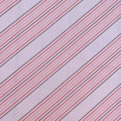 Coton à motif - Light Pink Stripe