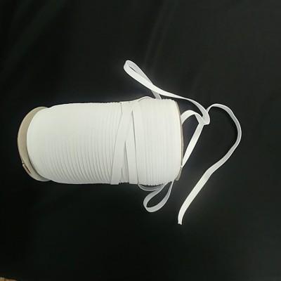 Élastique blanc 3mm (1/8) 10 mètres tricoté