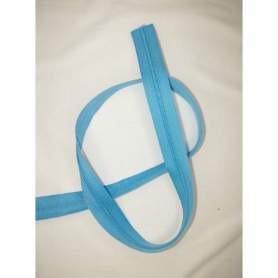 Fermeture à glissière - zipper - chaine - CYAN BLEU